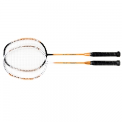 Carbon and Aluminum integrated Badminton Racket